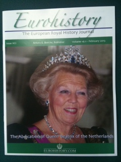 European Royal History Journal no. XCI